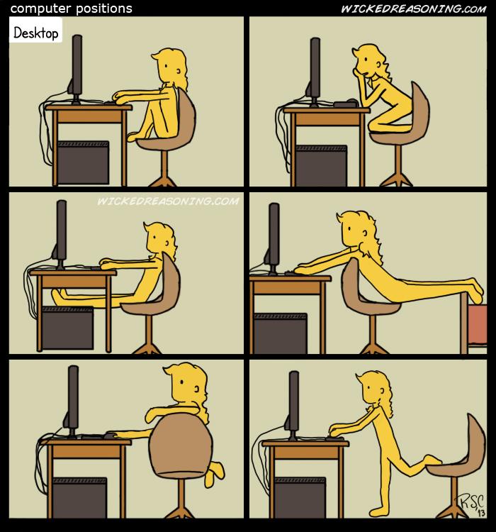 109 computer positions - desktop comic wicked reasoning